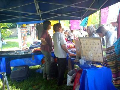 Claude secrétaire de lassociation 400x300 Festival du Tibet 2011